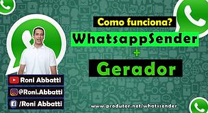 capa whatsapp sender + gerador video yt.