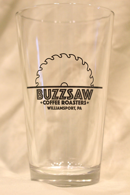 Buzzsaw Pint Glass