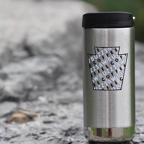 12oz Buzzsaw Travel Mug