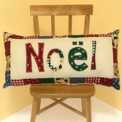 PILLOW Christmas Noel Chair SQUARE