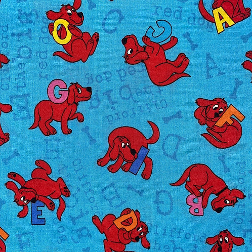 Face Mask -Clifford the Big Red Dog