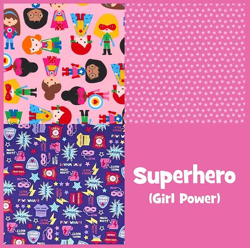 COZY Pillow - Superhero (Girl Power)