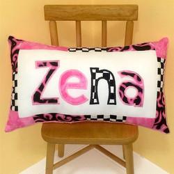 PILLOW Racing Pink Zena