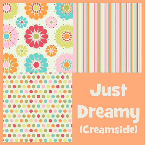 COZY Pillow - Just Dreamy (Creamsicle)