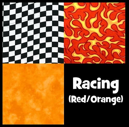 COZY Pillow - Racing (Red/Orange)