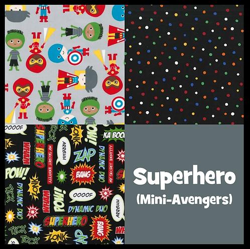 COZY Pillow - Superhero (Mini-Avengers)