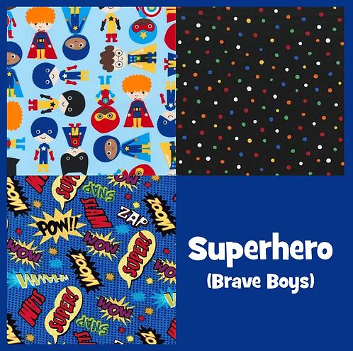 COZY Pillow - Superhero (Brave Boys)