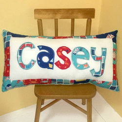 PILLOW By the Sea Casey SQUARE