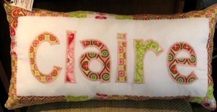 Pillow Mezzanine Pink CLAIRE Mid