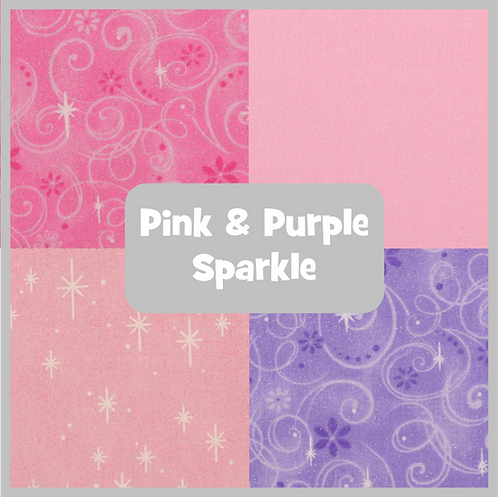 COZY Pillow - Pink & Purple Sparkle