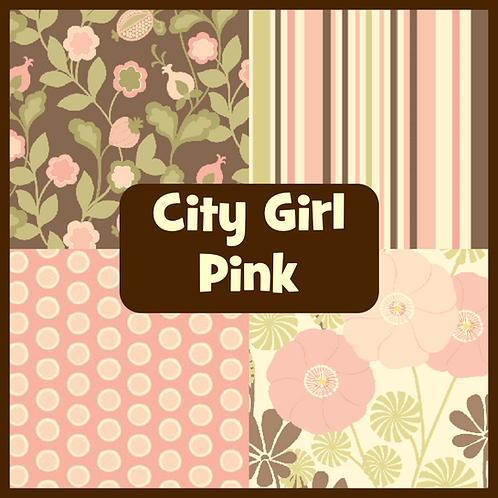 COZY Pillow - City Girl (Pink)