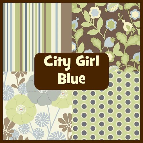 COZY Pillow - City Girl (Blue)