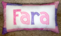 PILLOW Pink and Purple Fara