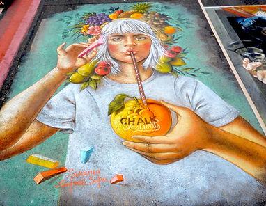 Chalk Festival, Venice Florida