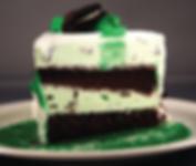 March Birthday Cake Recipe.Mint chocolate chip ice cream cake