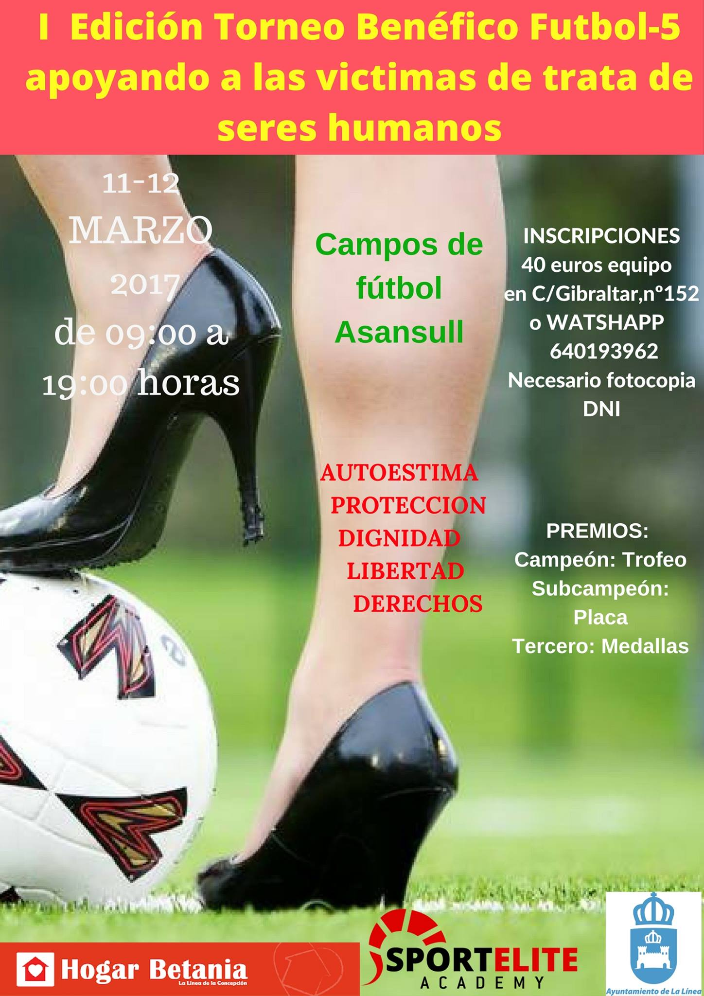 I Torneo Benéfico Futbol-5