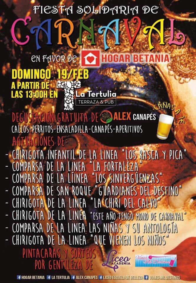 Carnaval Nuevo Hogar Betania