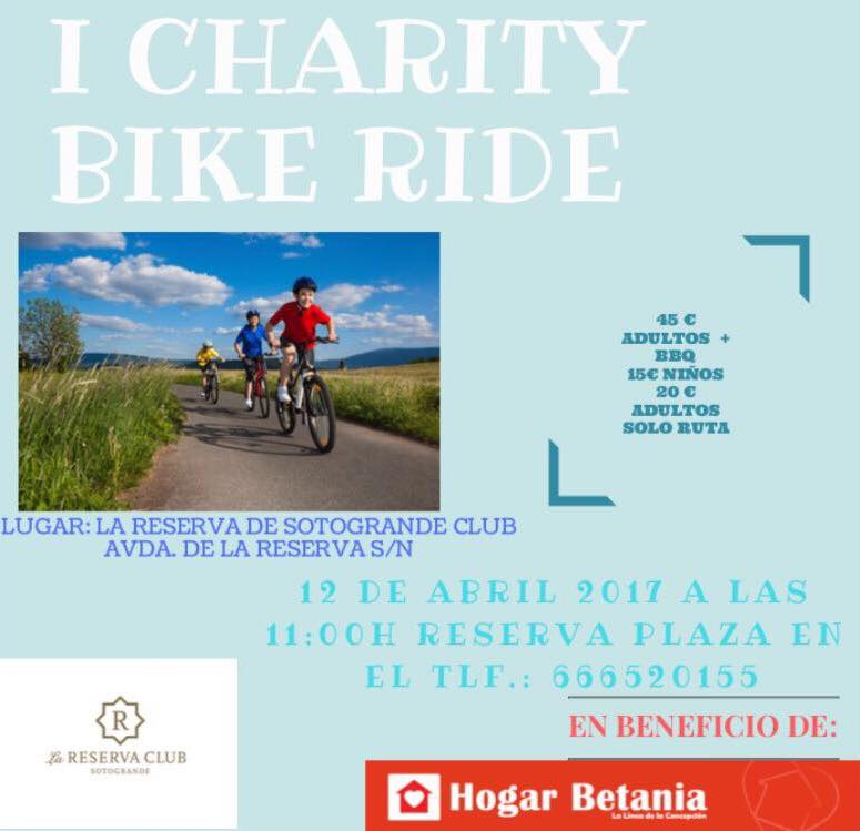 I Charity Bike Ride