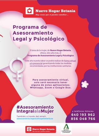 Programa de Asesoramiento Legar y Psicológico - Área de la Mujer