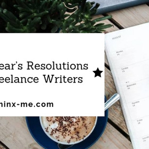 New Year's Resolutions for Freelance Writers