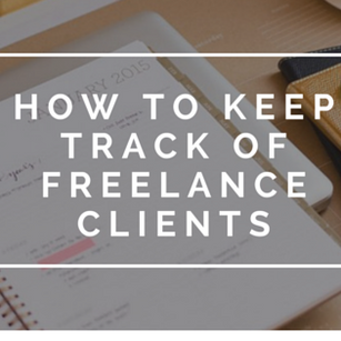 How to Keep Track of Freelance Clients
