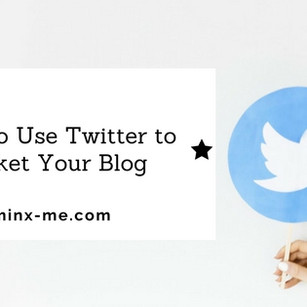 How to Use Twitter to Market Your Blog