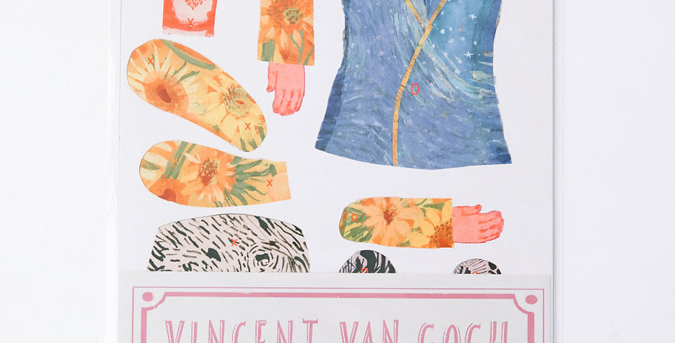 Cut and Make Paper Doll - Vincent Van Gogh
