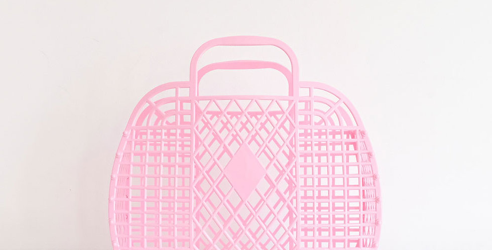 Sun Jellies Retro Basket - Large