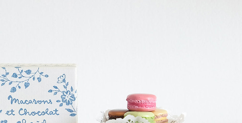 Maileg Macarons and Cake-stand