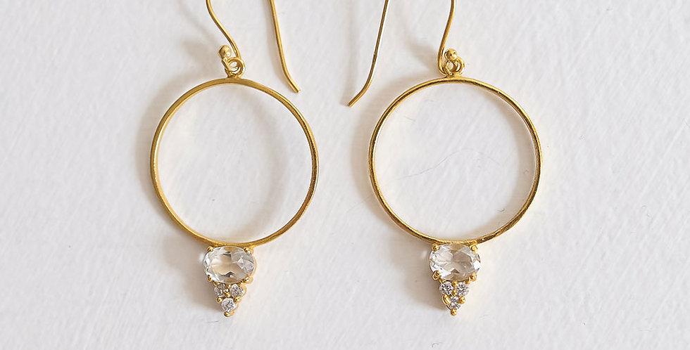 Rosa Hoop Earrings