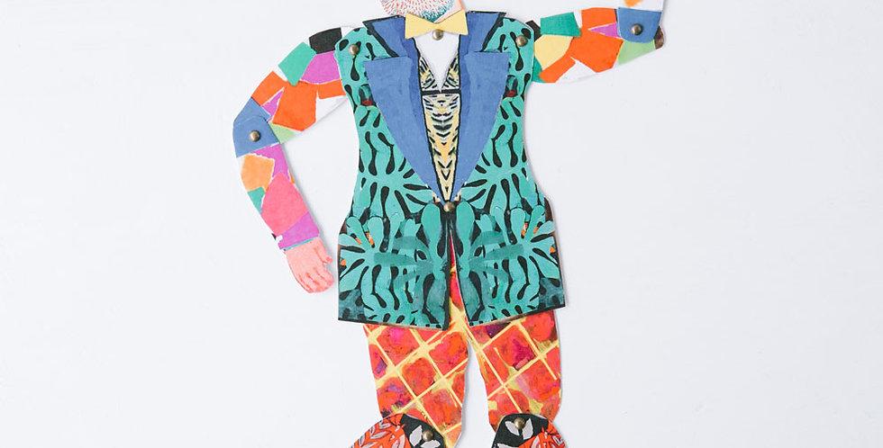 Cut and Make Paper Doll - Henri Matisse