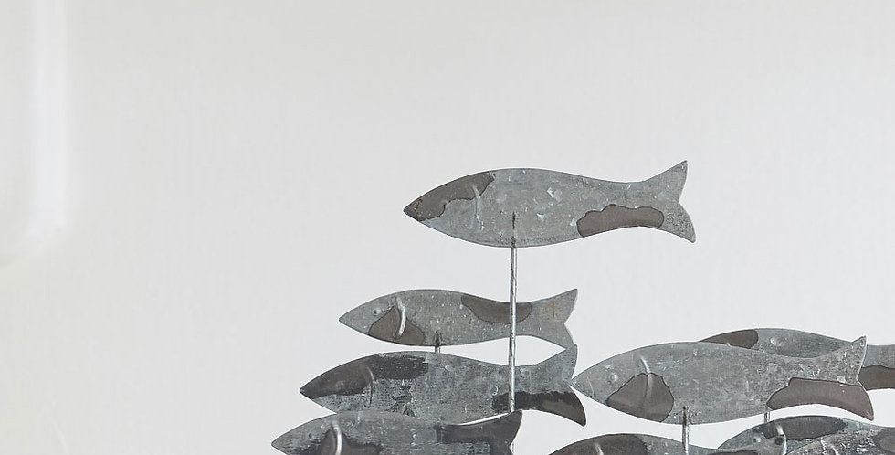 Tin School of Fish