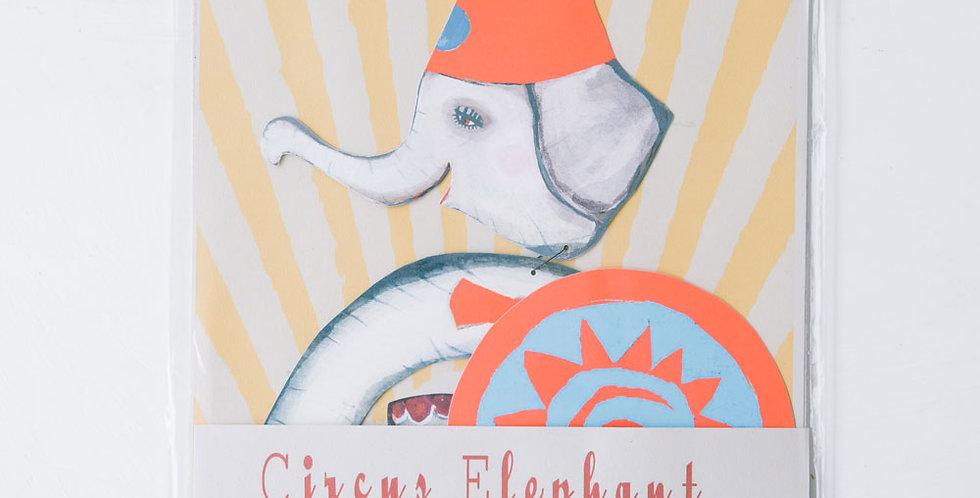 Circus Mobile Elephant