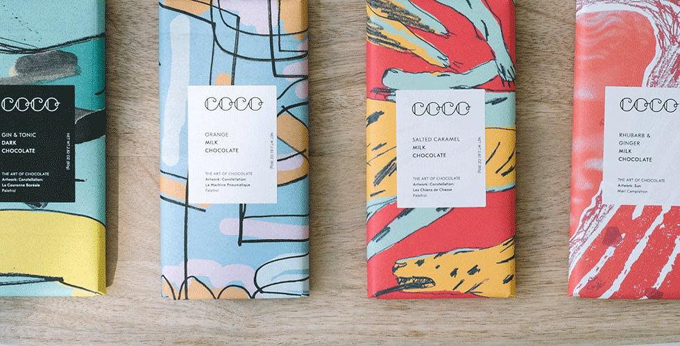 Coco Chocolatier Bars