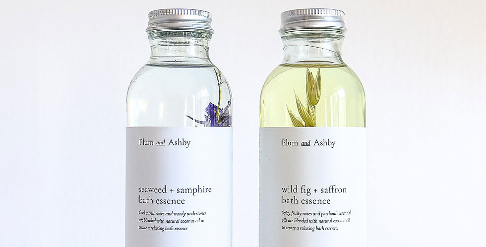 Plum & Ashby Bath Essence - Seaweed and Samphire