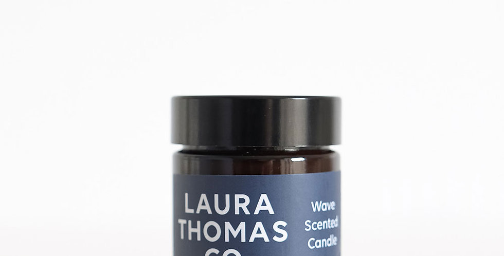 Laura Thomas Co. Jar Candle - Wave
