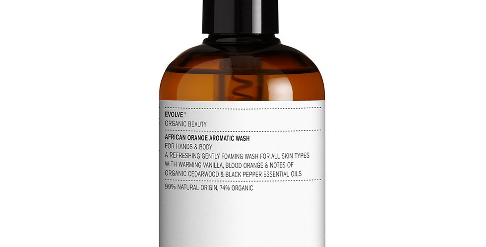 Evolve Beauty - African Orange Aromatic Hand & Body Wash