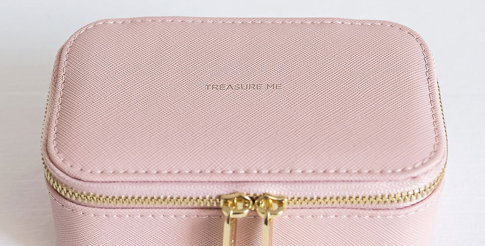 Estella Bartlett Mini Jewellery Box - Blush