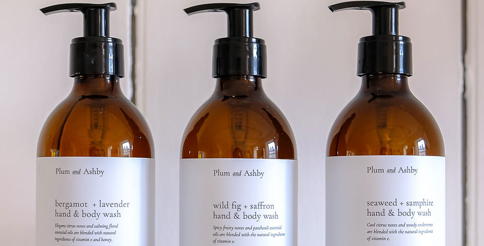 Plum & Ashby Hand and Body Wash