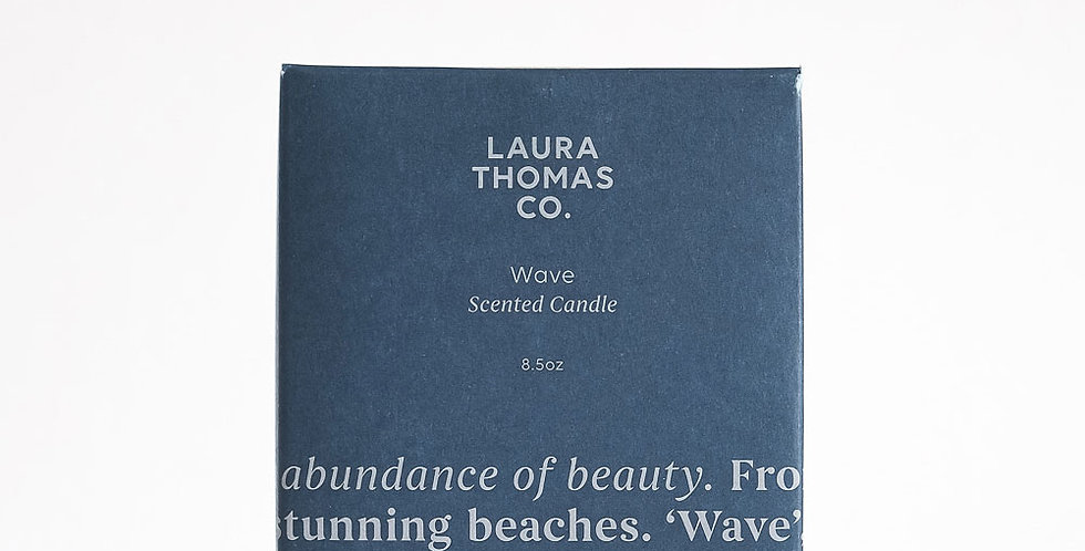 Laura Thomas Co. Candle - Wave