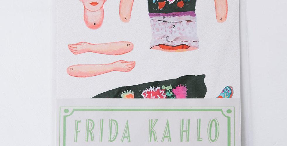 Cut and Make Paper Doll - Frida Kahlo