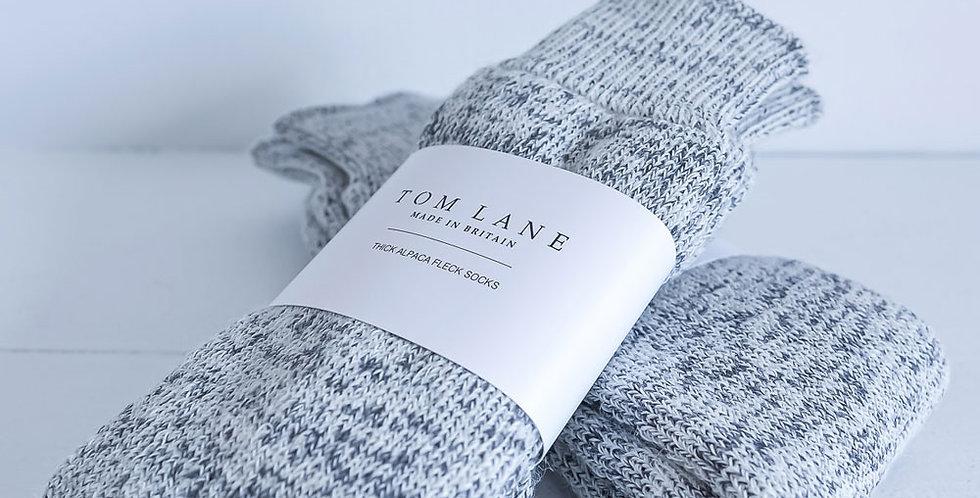 Tom Lane - Thick Alpaca Fleck Socks