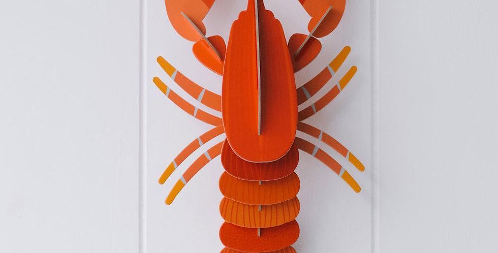 3D Wall Art Lobster