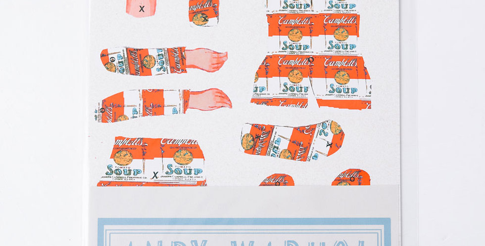 Cut and Make Paper Doll - Andy Warhol