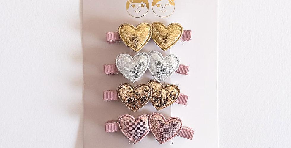 Mimi & Lula Mini Sweetheart Salon Clips