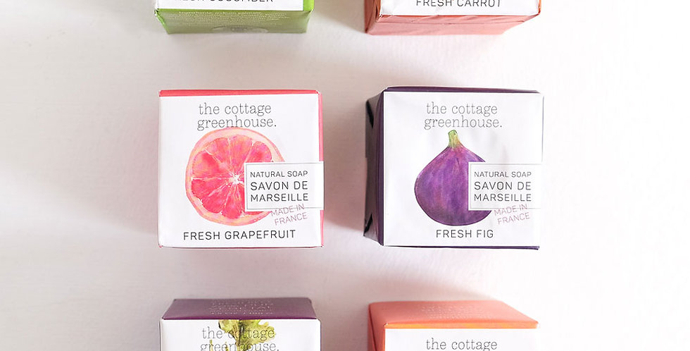 French Vegetable Soaps