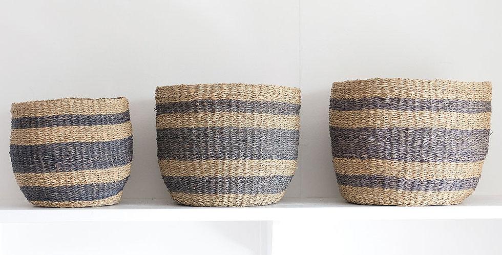 Aggie Basket Grey
