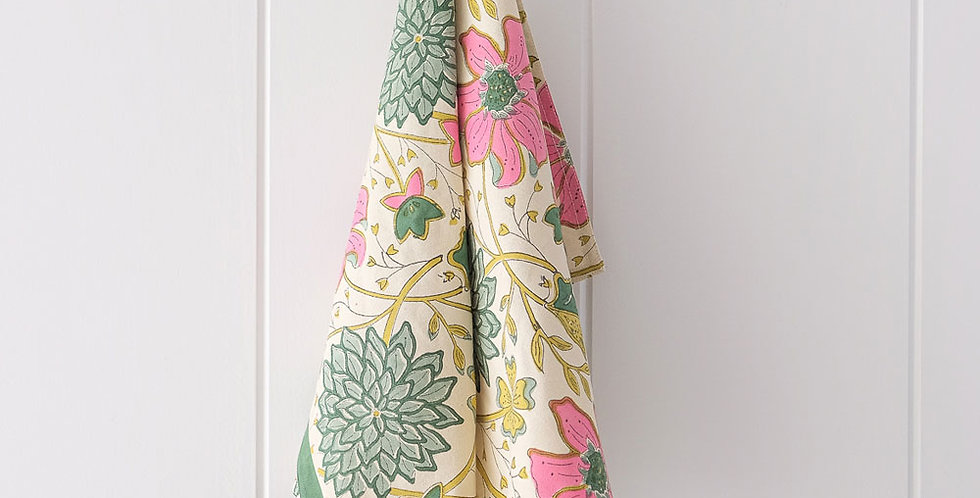 Bungalow Tea-Towel Sitapur