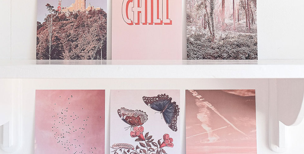 Can & Jo Collage Kit - Peachy Pink