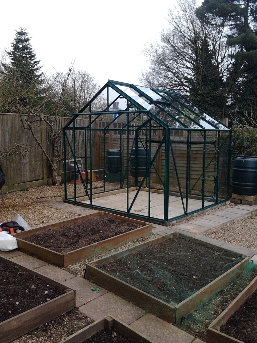 Belmont Greenhouse 8' x 8'